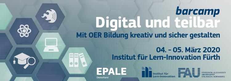 Digital und Teilbar - Mit OER Bildung kreativ und sicher gestalten