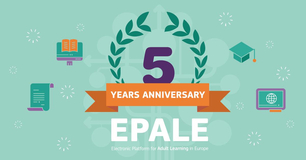 EPALE 5 Years Anniversary