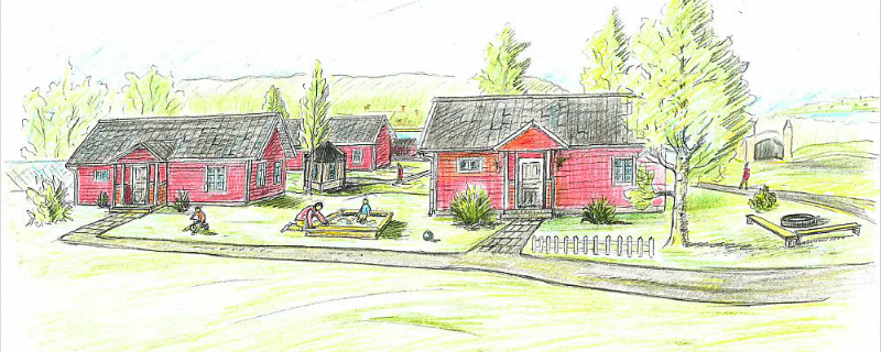 Ostersund Museum Housing for Refugees