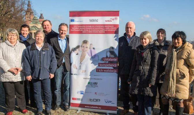 Erasmus+Projekt ValiSkills Projekttreffen Stettin