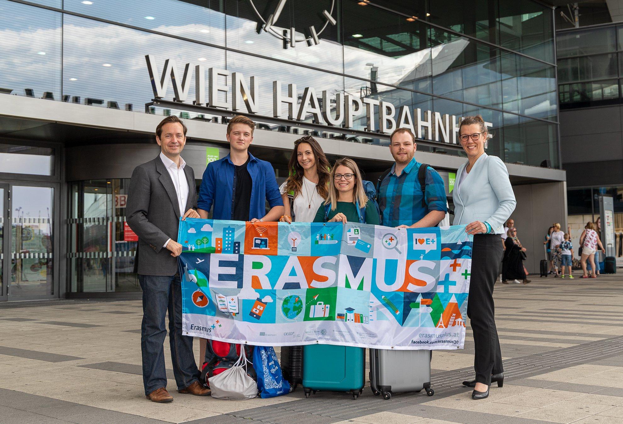10 Millionen Erasmus © BMBWF/Martin Lusser
