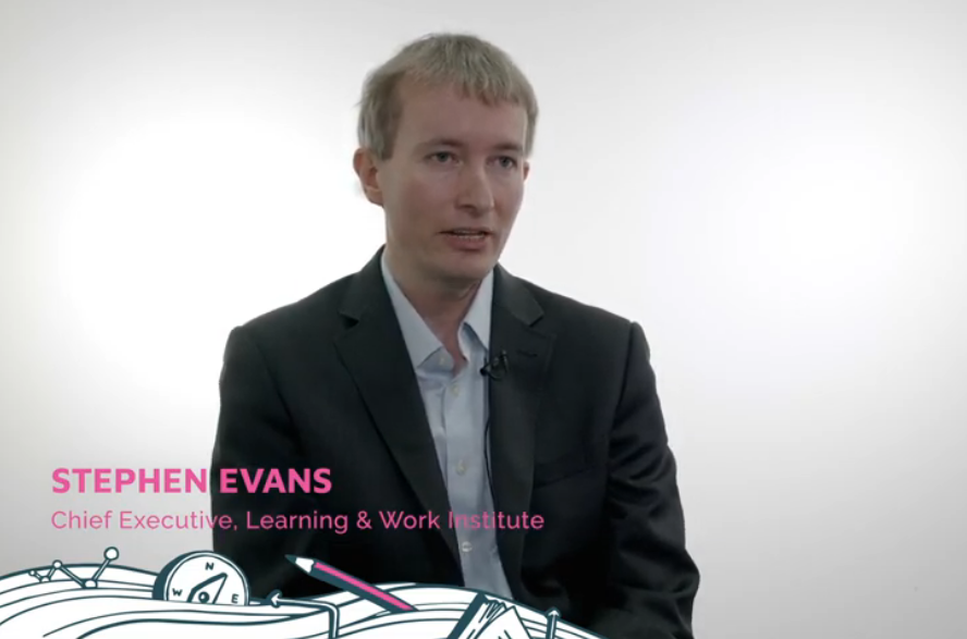 Upskilling Pathways 2019 interview: Stephen Evans