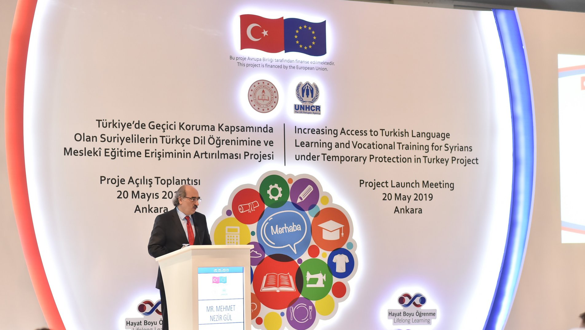 Increasing Access to Turkish Language Learning and Vocational Training for Syrians under Temporary Protection in Turkey Project