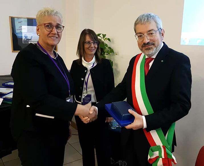 Anat Livnat e il sindaco Honsell