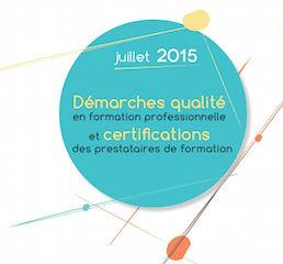 alité en formation professionnelle et certification des prestataires de formation