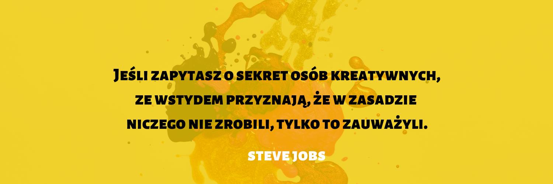 cytat - Steve Jobs