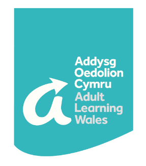 Adult Learning Wales logo