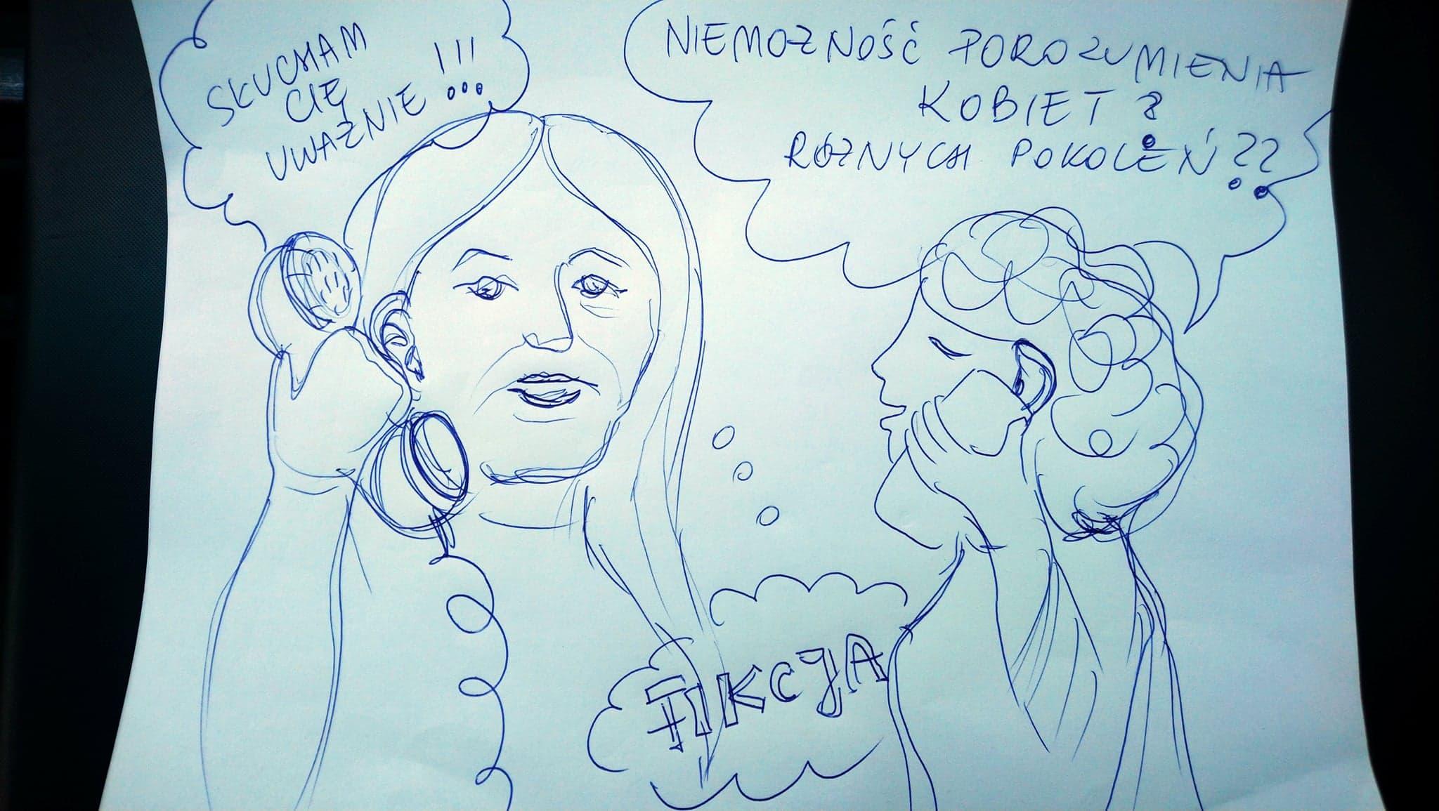 Autor: Agnieszka Olaszkiewicz. Efekt działań międzypokoleniowych