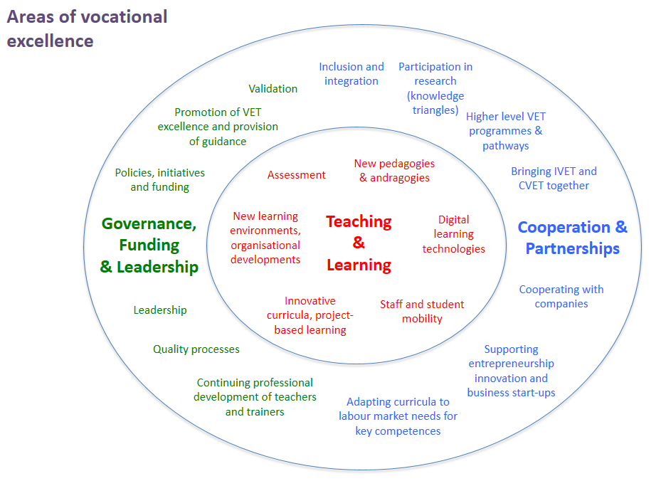 Areas of Vocational Excellence