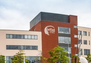 Belfast Met College exterior