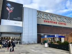 Brent Cross shopping centre exterior view