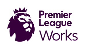 The logo for Premier League Works which is Cardiff City FC Community Foundation's prison education programme.
