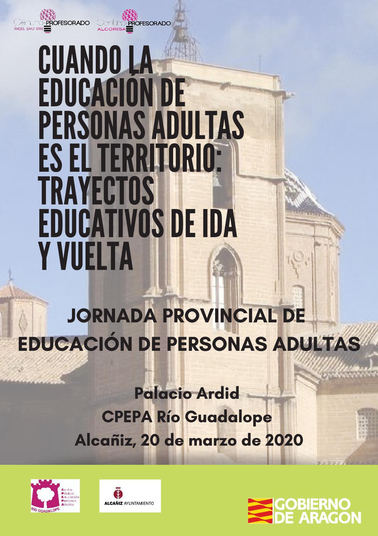 JORNADA PROVINCIAL DE EDUCACIÓN DE PERSONAS ADULTAS (Teruel)