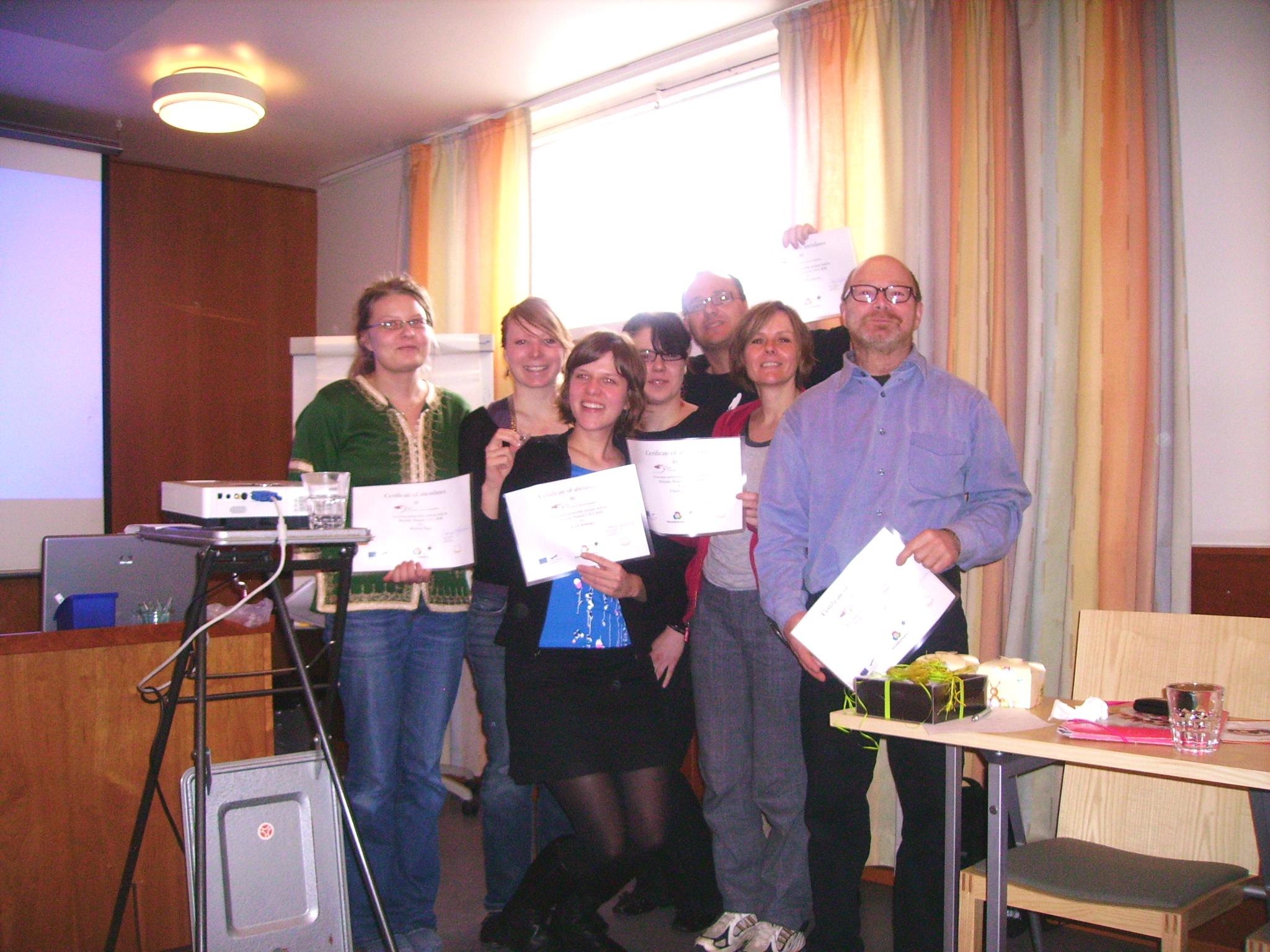 I Volunteer Certificate