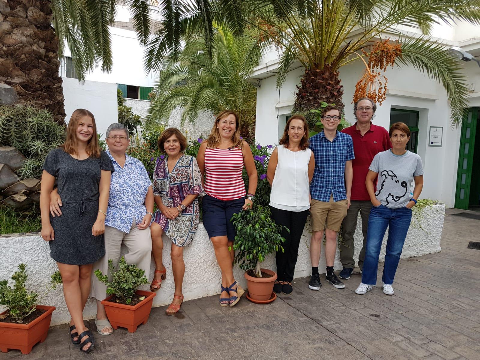 Equipo educativo del CEPA Arucas y Firgas Fernando Marrero Pulido