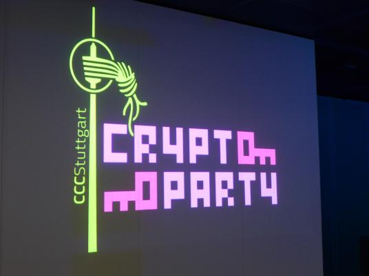 CCC Cryptoparty © Stadtbibliothek Stuttgart