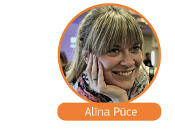 Click to read Alīna Pūce's story