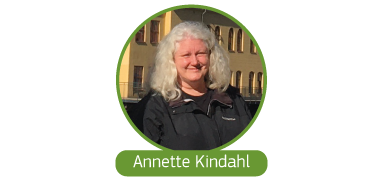 Click to read Anette Kindahl's story