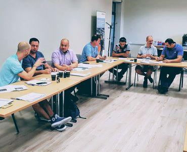 Treffen bei der Chamber of Commerce in Heraklion