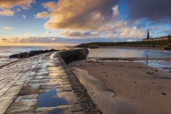 Cullercoats Bay in North Tyneside