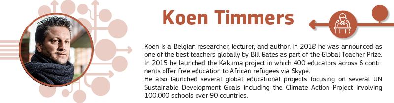 Keynote Speech - Koen Timmers