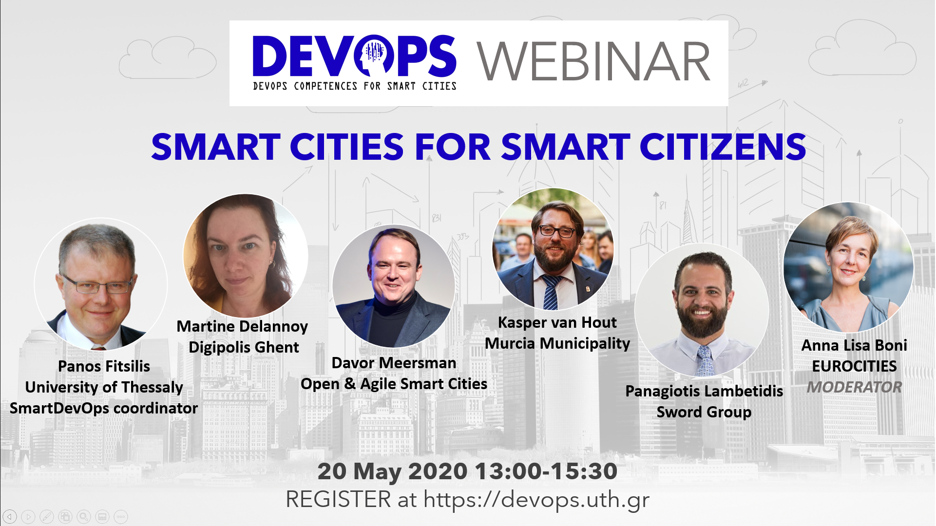 Smart Cities for Smart Citizens webinar