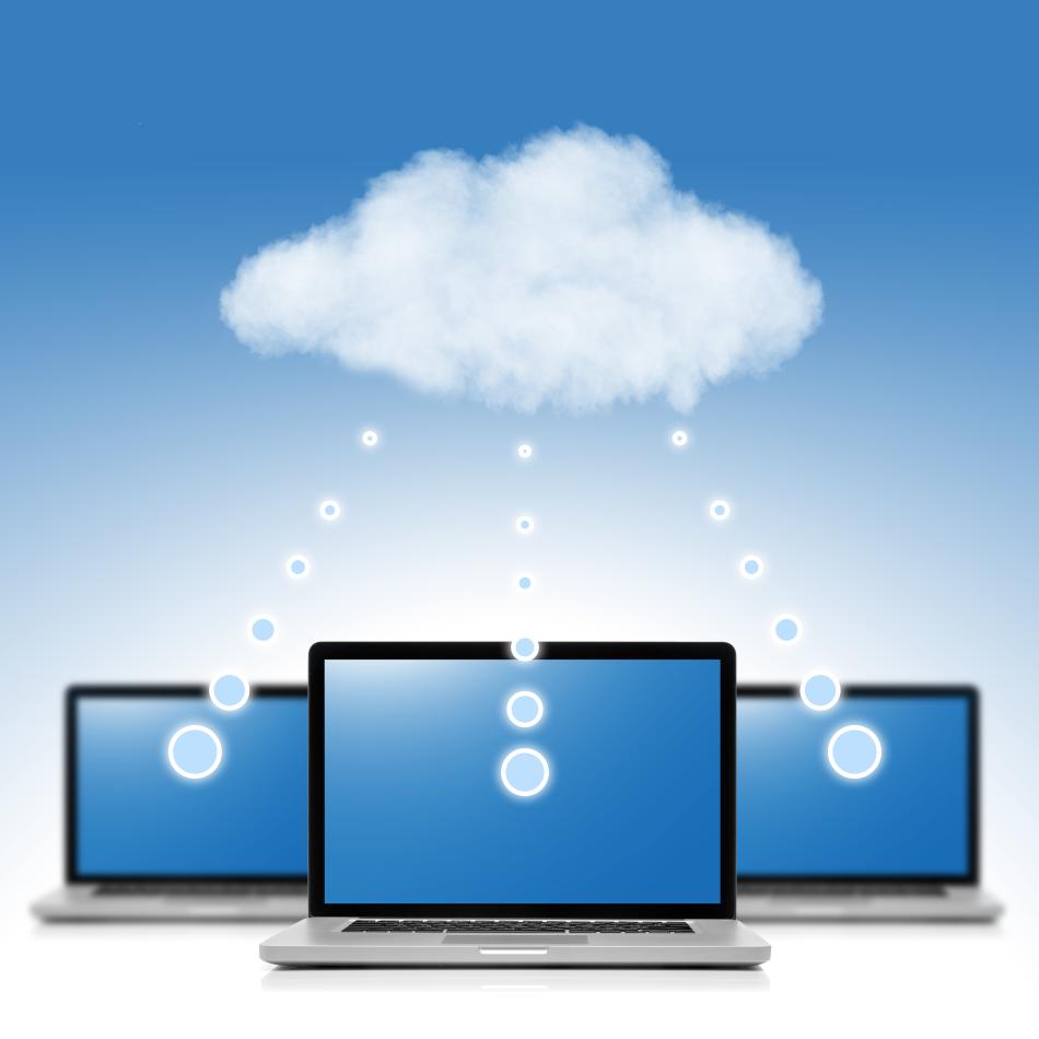 Clouds Digitalisierung Erwachsenenbildung