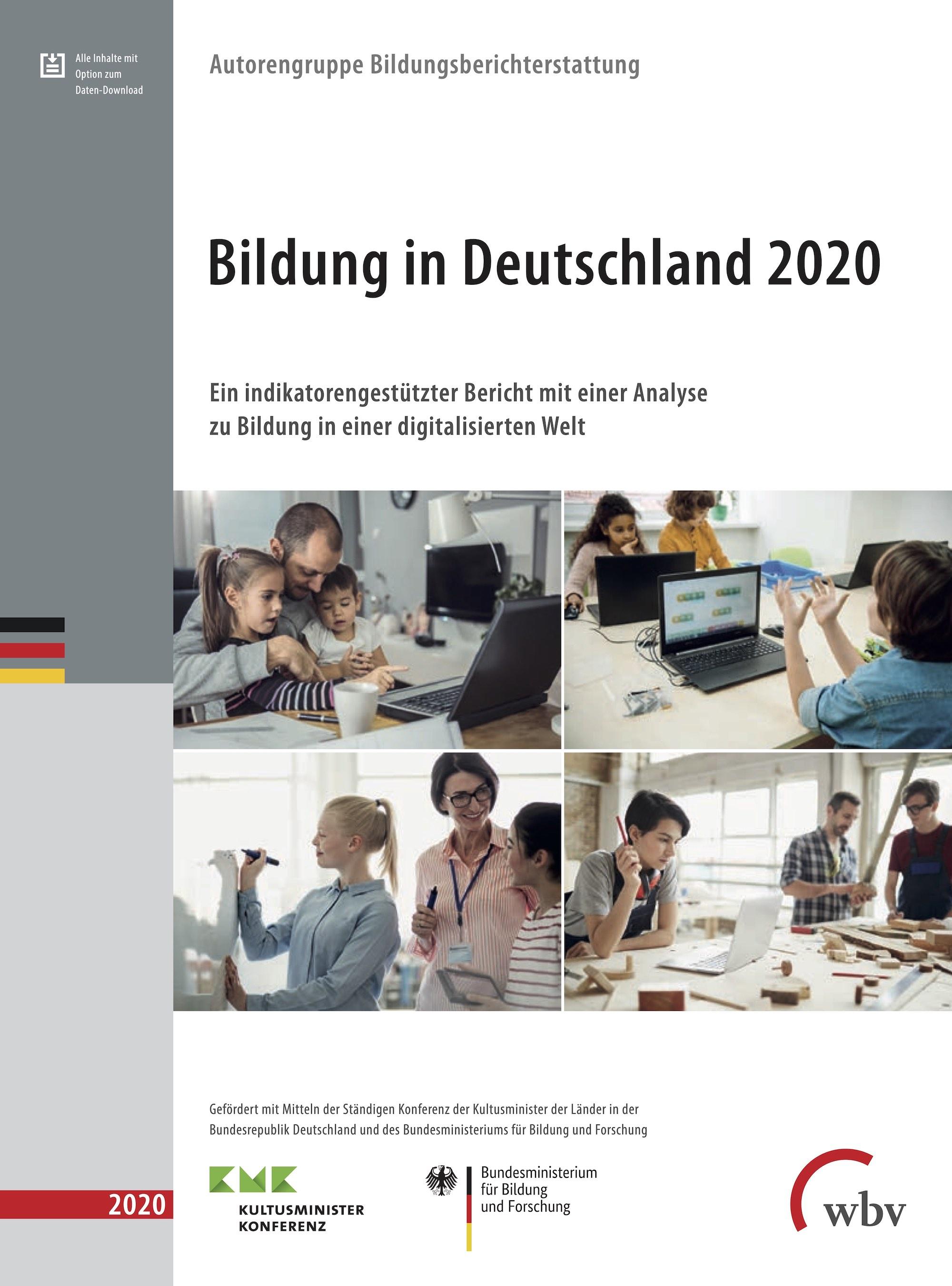 Cover Bildungsbericht 2020