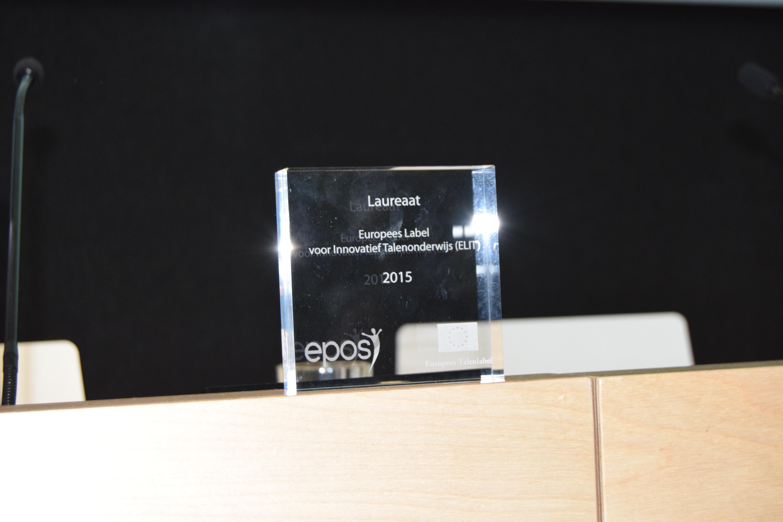 Trofee voor ELIT-prijswinnaars