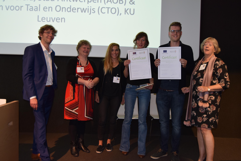 Kaap-Ouders wint ELIT-prijs op Europese Dag van de Talen
