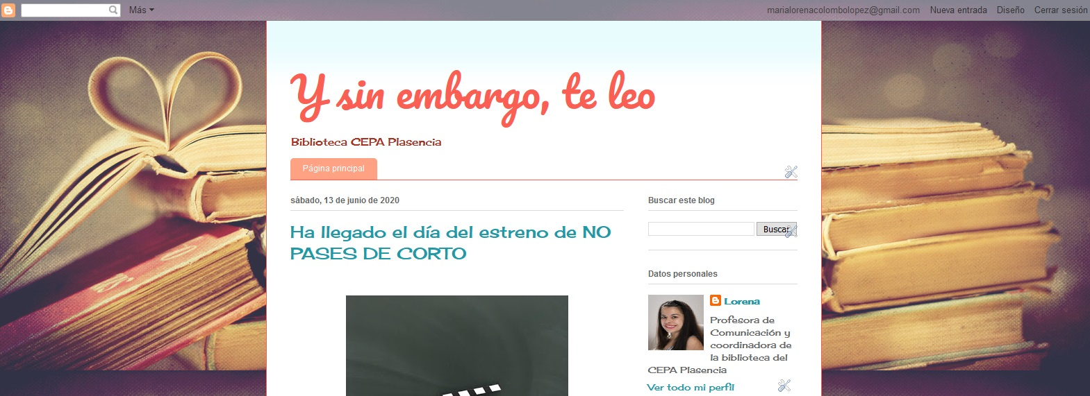 Ejemplo de blog educativo