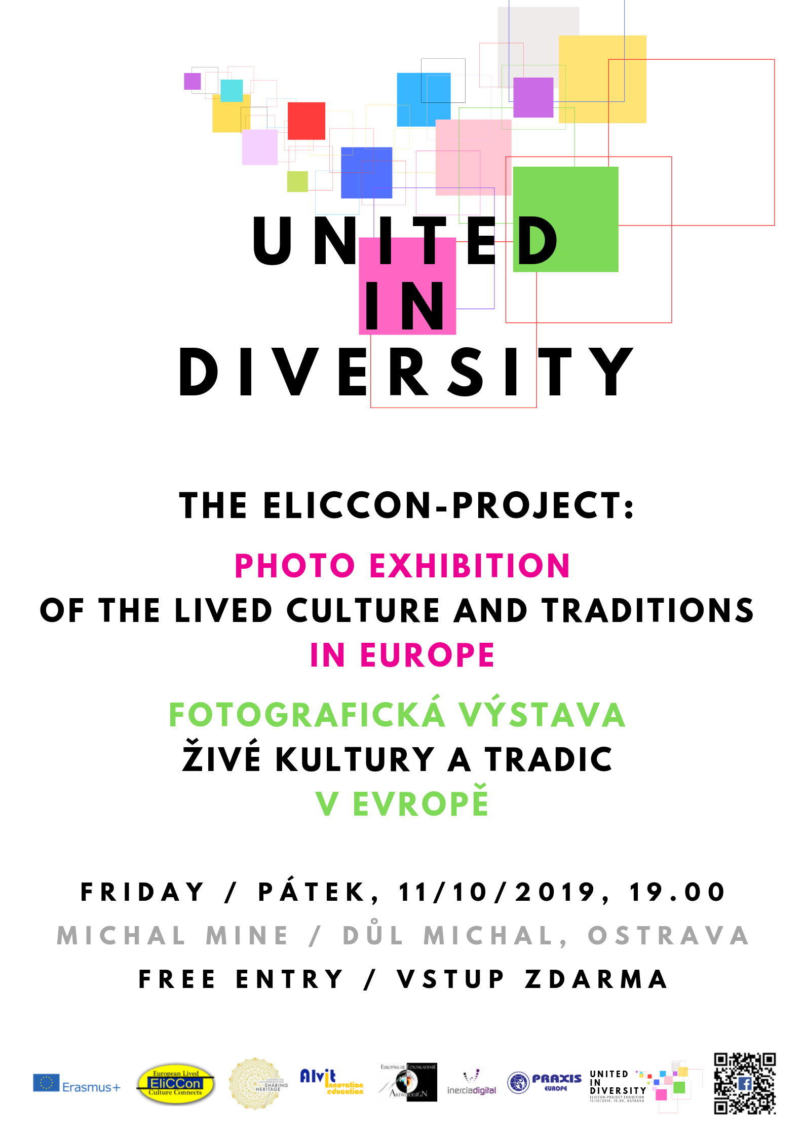 Opening of the EliCCon-Exhibition on 11th of October 2019, 19.00