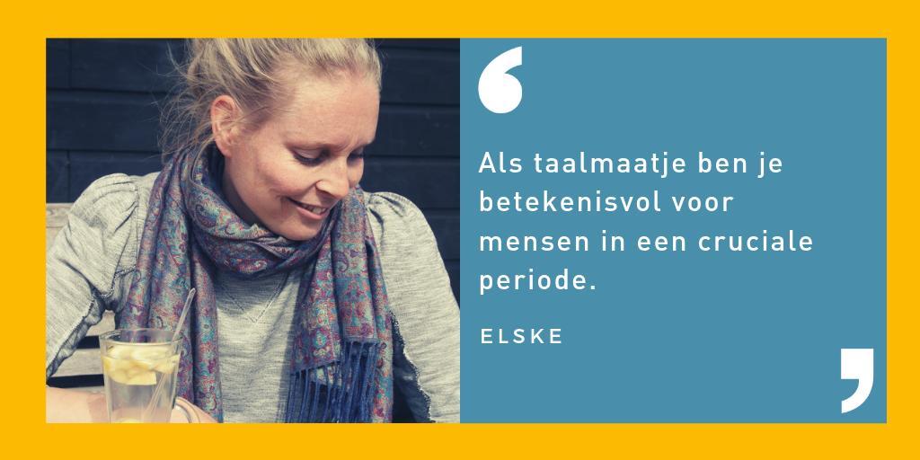 NT2-docent Elske over het belang van taalvrijwilligers