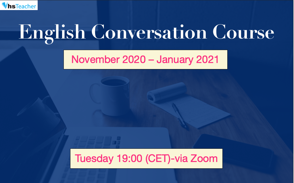 English Online Conversation Course