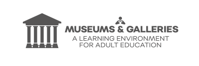EPALE Museums & Galleries dark grey logo