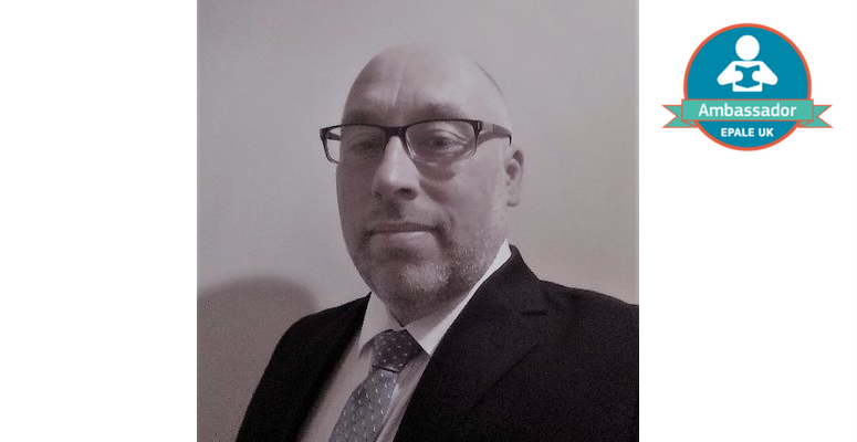 A photo of Ian Pegg who is an EPALE UK Ambassador.