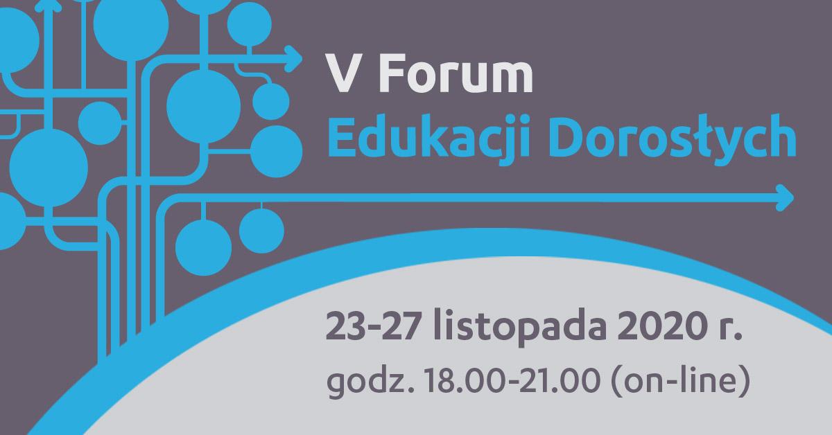 V Forum Edukacji Dorosłych