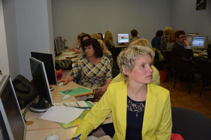 Pieaugušo izglītības seminārā Daugavpilī.