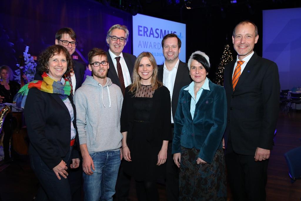 Erasmus+ Award 2018 (c) OeAD-GmbH/APA-Fotoservice/Schedl