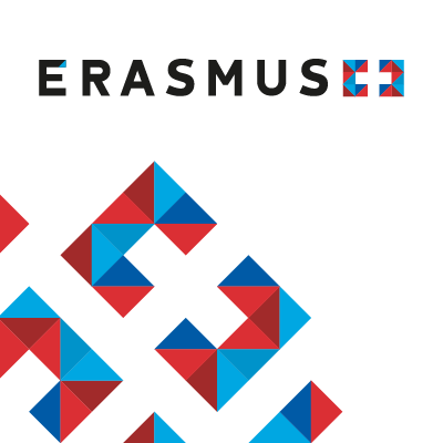 The Erasmus+ logo.