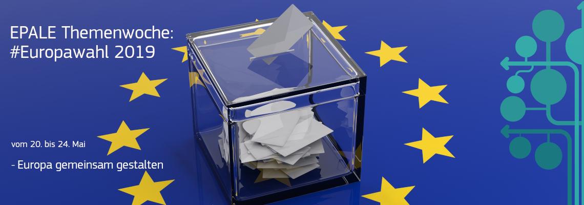 EPALE Themenwoche Europawahl 2019