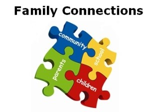 The logo for Family Connections which is a Barnardo's project in Belfast.