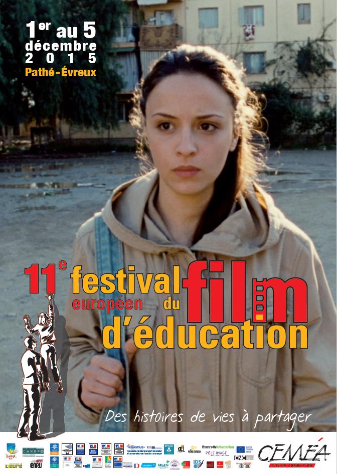 Affiche festival du film de l'éducation CEMEA