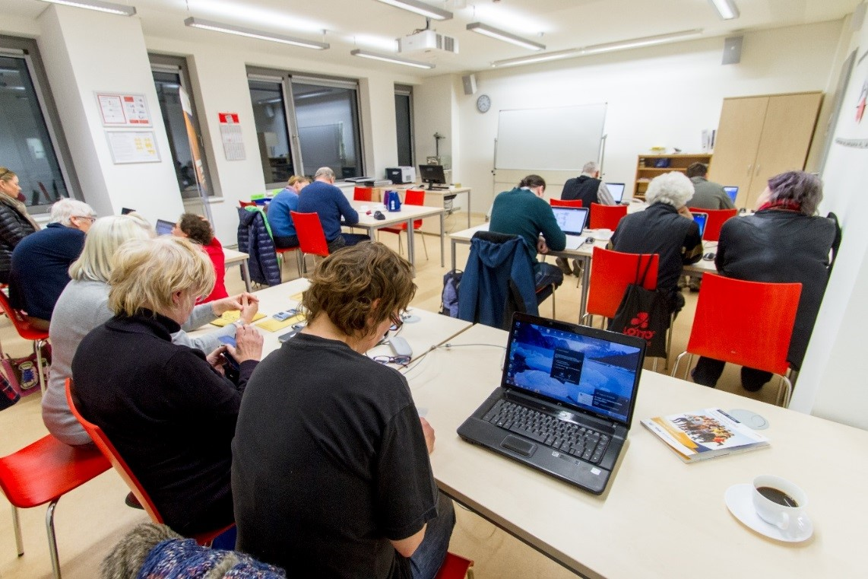 Lerncafé im Grundbildungszentrum Potsdam (Christoph Freytag)