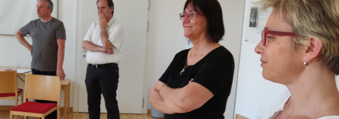 Erasmus+-Projekt GEKS Vielfalt: Lehr- und Lernsituationen nach methodisch-didaktischen Konzepten unterstützen die Treffen und deren inhaltliche Auswertung. Hier in Wien.