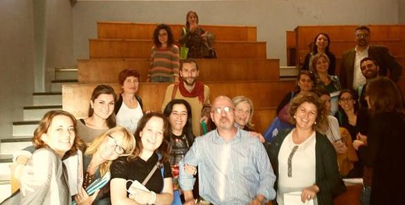 Gruppo di lavoro Catania - Seminario EPALE sui migranti