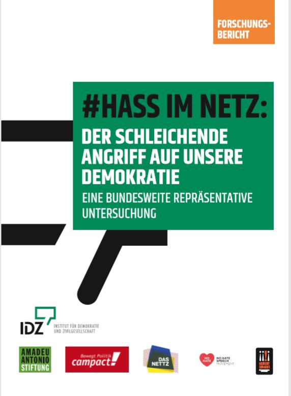 Forschungsbericht #Hass im Netz