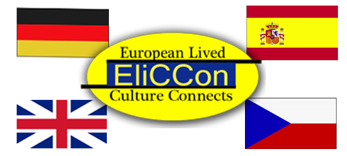 Logos of the EliCCon-project and of the project partners