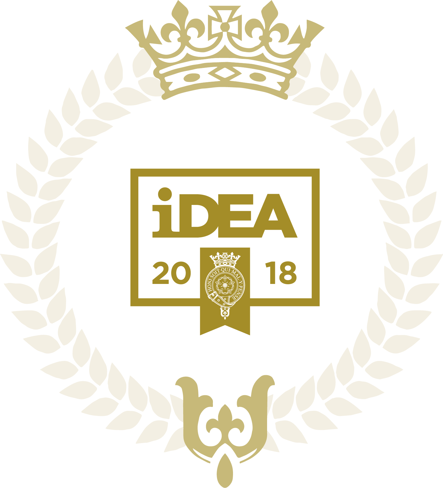 The Duke of York Inspiring Digital Enterprise Award (iDEA) Bronze Award wreath logo 2018