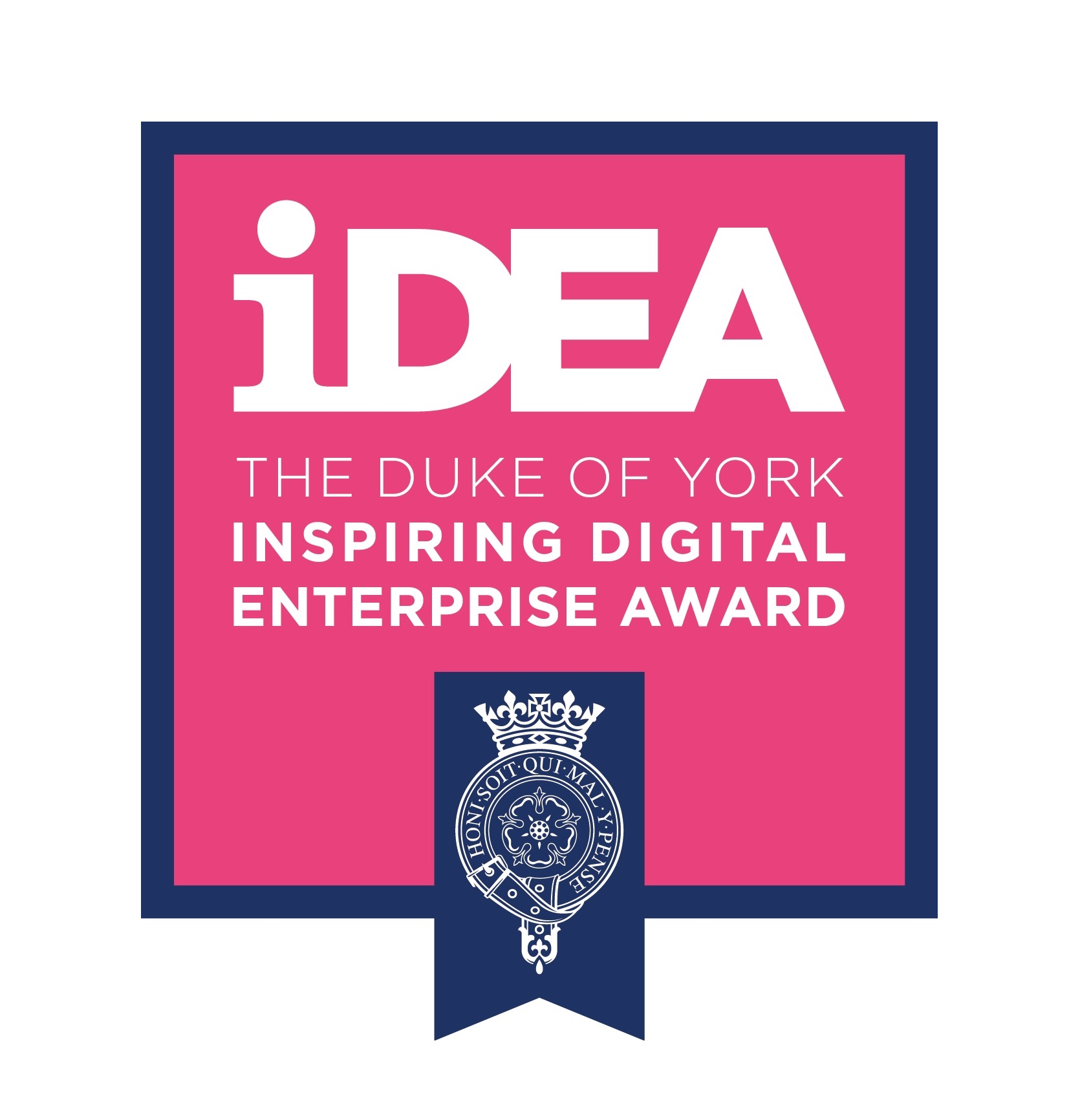 The Duke of York Inspiring Digital Enterprise Award (iDEA) logo